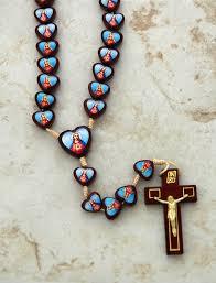sacred heart rosary contreras designs inc rosaries rosaries b051s