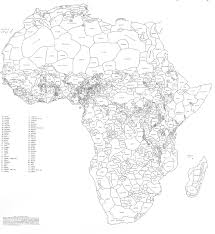 Map If Africa by Map Of Africa With Ethnic Boundaries Earthly Mission