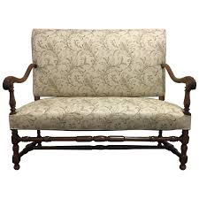 Antique French Settee Viyet Designer Furniture Seating Antique Provencal French Settee