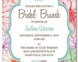bridal lunch invitations brunch invitation template best template collection