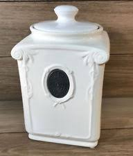 thl kitchen canisters ceramic kitchen flour canisters ebay