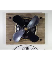 vintage ge fan blade prop u0026 aircraft style cowl wall decor