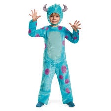 monsters inc mike halloween costumes amazon com disney pixar monsters university sulley toddler deluxe