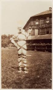 these vintage halloween costumes will scare the sheet out of you