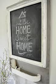 Trash To Treasure Ideas Home Decor Anderson Grant Trash To Treasure Chalkboard Message Center