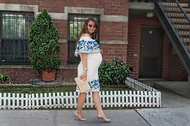 what to wear to a cocktail party when pregnant alley