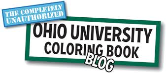 completely unauthorized ohio coloring book