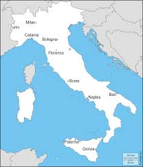 Italy Map Cities Switched Cities Quiz