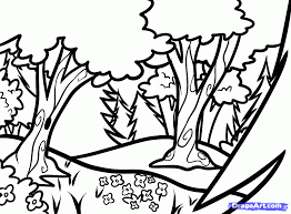 forest coloring page google search sabbath pinterest