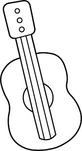 guitar clip art border black and white clipart clip art library