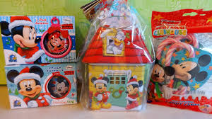 disney mickey minnie mouse and friends christmas surprise house