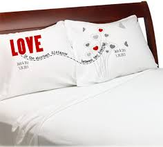 love is the shortest distance pillow covers
