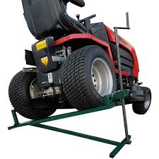 ride on lawn mower lift 400kg lifting device ramp garden tractor