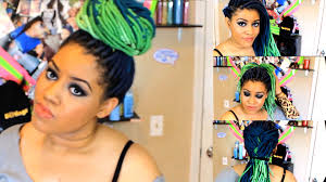dreadlocks hairstyles youtube 15 faux locs hairstyles in 5 mins youtube