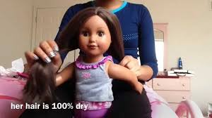cute hairstyles for our generation dolls how to straighten doll hair without heat youtube