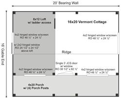 vermont cottage kit option a jamaica cottage shop product view