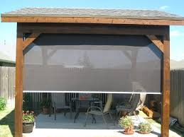 Backyard Shade Ideas Outdoor Living Deck Privacy Shades Blinds Outside Canopy Outdoor