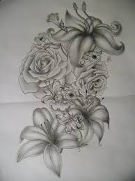skull and flowers tattoos ideas pictures to pin on pinterest