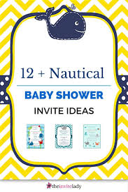 baby shower invitations under the sea 165 best baby shower nautical images on pinterest nautical
