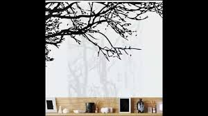 black tree wall sticker removable decal room wall sticker new home black tree wall sticker removable decal room wall sticker new home decor