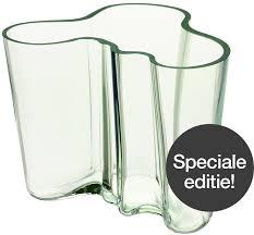 Iittala Aalto Vase Iittala Aalto Vase Clear 16cm 1937 Limited Edition 1023957