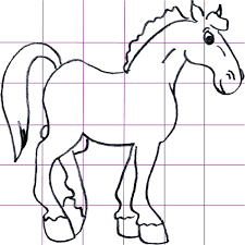 cartoon horse sketch images reverse search