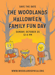 save the date halloween halloween family fun day u2014 the woodlands