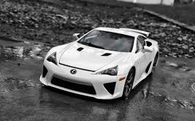 lexus supercar lfa download wallpaper 2560x1600 lexus lfa supercar white front