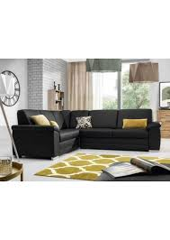 canapé d angle en simili cuir canapé d angle moderne convertible en simili cuir noir bolonia