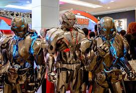 ultron costume impressive ultron for age of ultron geektyrant
