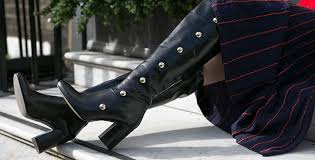 womens tring boots nz violet grey mid heel the knee boots by kg kurt geiger kurt