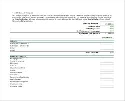 Personal Budget Spreadsheet Template 14 Budget Spreadsheet Templates Free Sle Exle Format