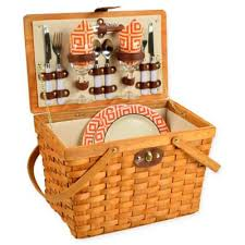wine picnic baskets buy wine picnic baskets from bed bath beyond