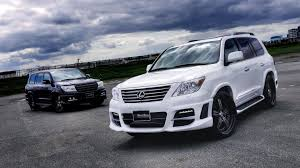 lexus lx 570 in uk lexus lx570 with wald sports line black bison edition