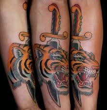 tiger forearm tattoo designs white tiger tattoo design
