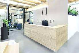 Reception Desk Designs Wood Reception Desk Catchy Wood Reception Desk A Custom Reception