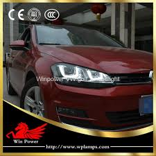 volkswagen xenon volkswagen golf mk7 r headlight with bi xenon projector lens and