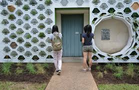 austin texas native plants campus installs first living wall ut news the university of