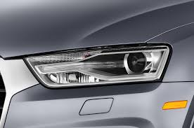 audi headlights 2017 audi q3 reviews and rating motor trend