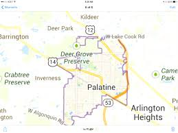 map usa illinois snapshot of a map pic downtown palatine il favorite best