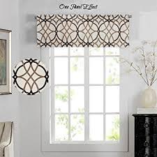 curtain valances for living room amazon com h versailtex energy saving curtain valances for living