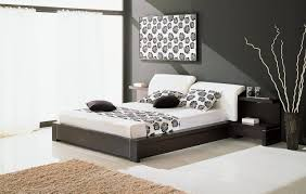 Black And White Bedroom Decor by High Tech Style Interior Design Ideas