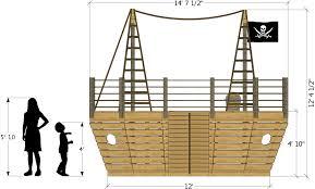 build a pirate ship playhouse 8 designs you can build u2013 paul u0027s