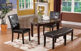 Brown Leather Chairs For Dining Triangle Dining Table With Bench Brown Leather Arm Sofa Chair Dark
