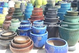 glazed ceramic pots glazed garden pots turquoise glazed ceramic pot with without aloe