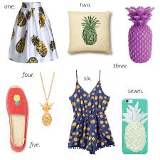 pineapple decor shoes phone cases missy on madison