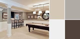 a palette guide to basement paint colors basement color schemes
