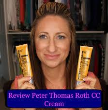 peter thomas roth cc light review peter thomas roth cc cream lisasz09 youtube