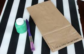 diy christmas tree footprint gift bags coffee cups and crayons