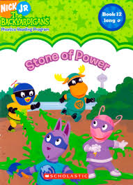 stone power backyardigans bk 12 sonia sander paperback